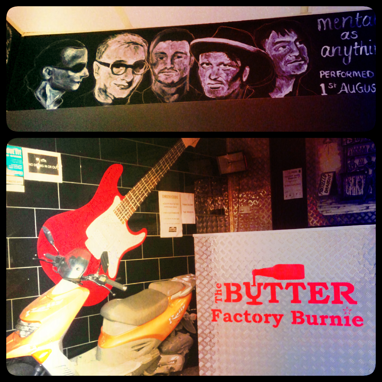 The Butter Factory in Burnie